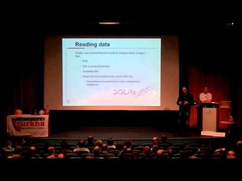 Arthur Donkers en Ralph Moonen - Mobile Security & Hacking