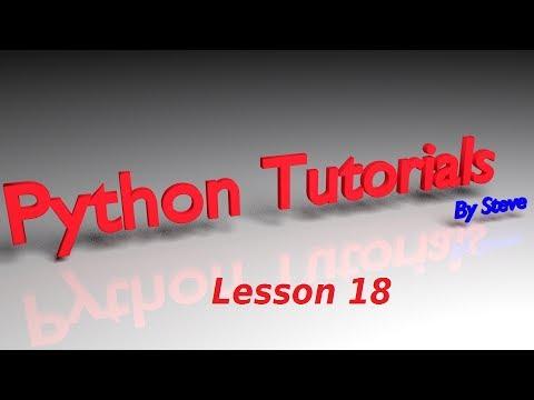 Python Tutorial v3 2 5 Lesson 18 - Multi-Line String