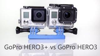 GoPro HERO3 vs HERO3 Comparison and Review