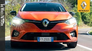 2020 Renault Clio Intens | Orange Valencia | Driving, Interior, Exterior