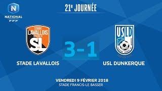 Stade Lavallois vs Dunkerque full match