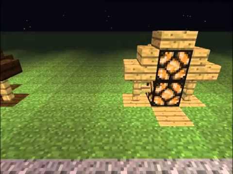 Minecraft decoration ideas outdoor lamps youtube for Minecraft exterior design ideas