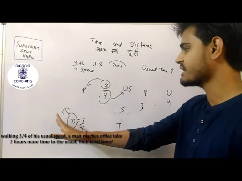 Time & Distance Logically, Free & Best by Nigania Coaching | Quick Equation | SSC exam 2017