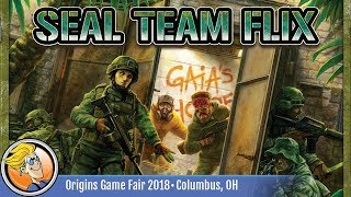 SEAL Team Flix — game preview at Origins 2018