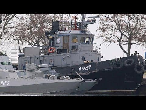 Rússia obrigada a libertar marinheiros ucranianos