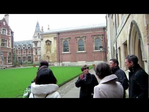 A short tour of Cambridge University