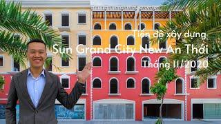 Tiến độ xây dựng Khu Đô Thị Sun Grand City New An Thới | Tháng 11/2020 | SUN GROUP PHÚ QUỐC