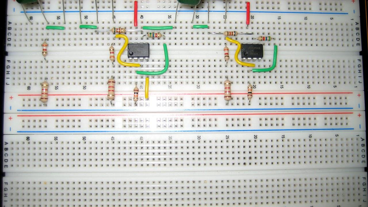 Tech Tutcom Sallen Key High Pass Filter Breadboard Youtube Simple Project Circuit Active Band