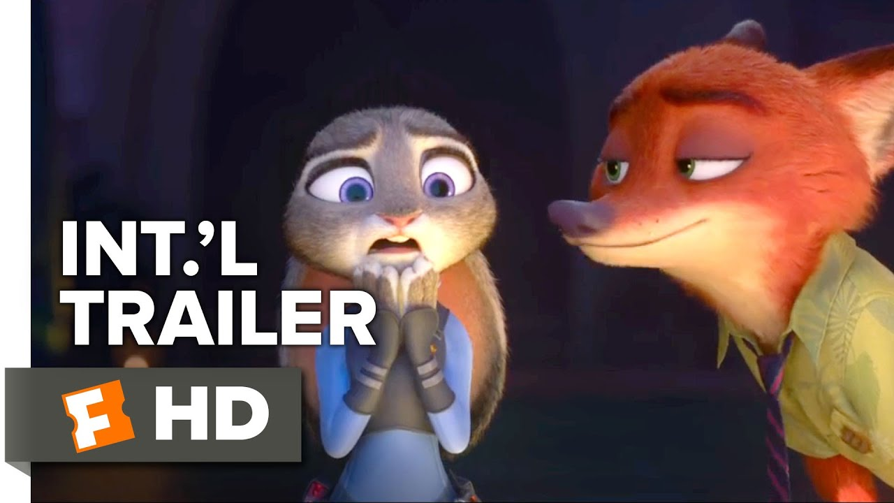 Zootopia Official Uk Trailer 1 2016 Jason Bateman Ginnifer