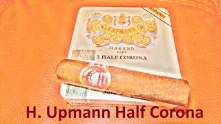 Обзор кубинской сигары H  Upmann Half Corona