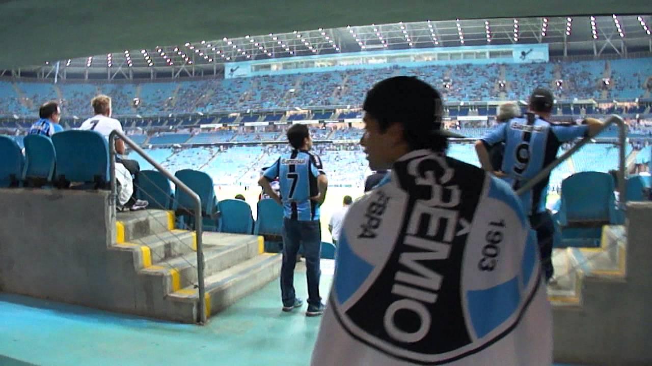 Conhecendo a Arena do Grêmio - Primeiro Jogo - LA2016 - Do ...