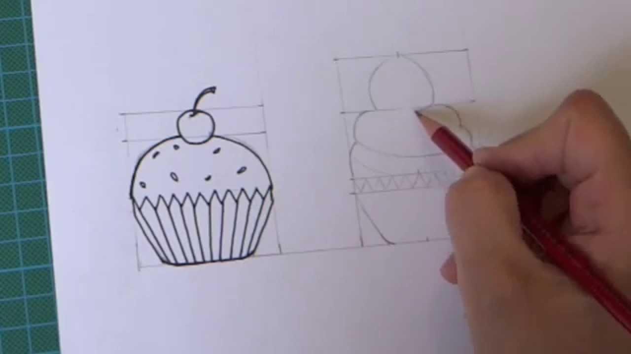 Des Cupcakes à Dessiner Apprendre A Dessiner Artettuto