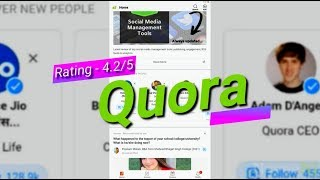 Quora - Best Q & A App Worth Installing
