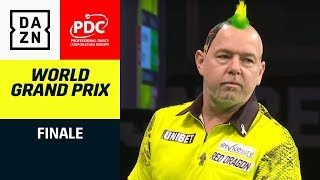Peter Wright trifft auf Michael van Gerwen im Finale | Darts World Grand Prix | DAZN