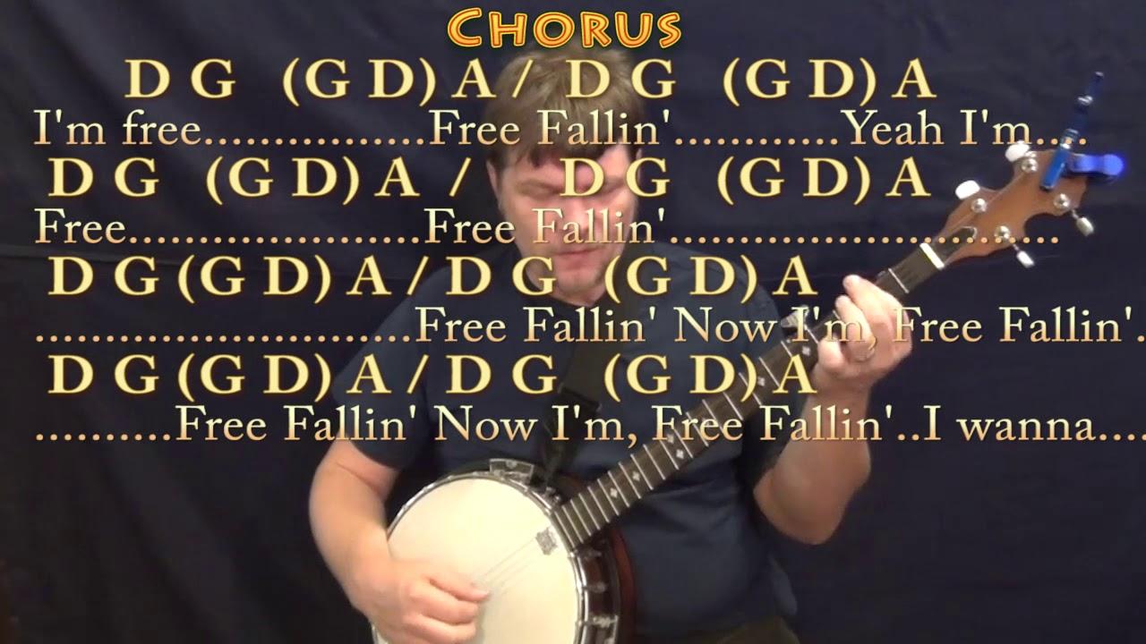 Free fallin tom petty banjo cover lesson in d with chords free fallin tom petty banjo cover lesson in d with chordslyrics hexwebz Image collections