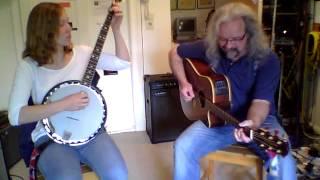 happy birthday banjo and guitar