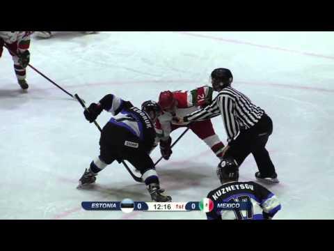 Ice Hockey - Estonia vs Mexico, 8.11.2015, OLYMPIC QUALIFICATION