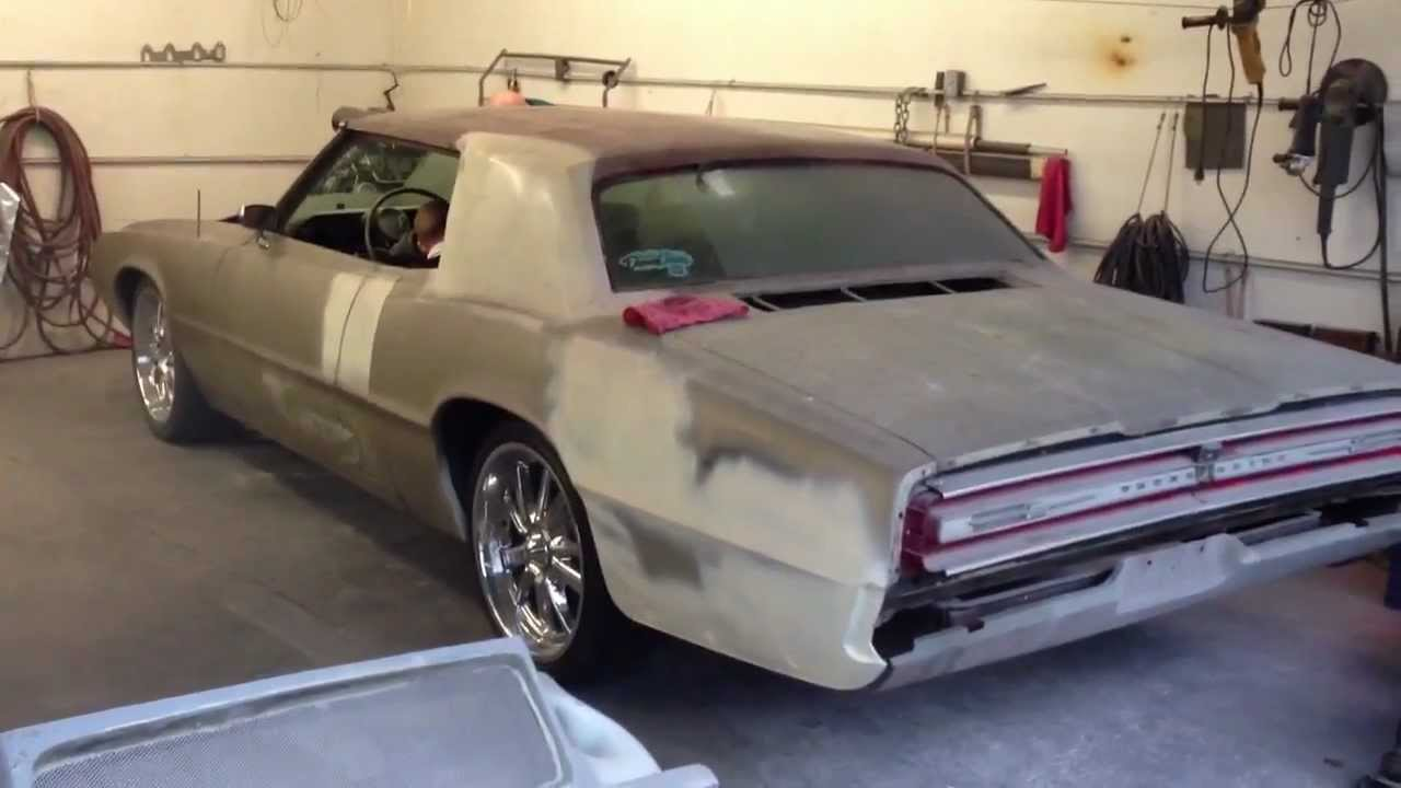 Blown FE Motor 1967 Ford Thunderbird Start Up And Revs