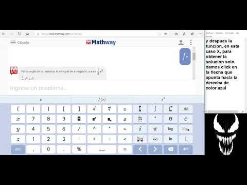 Mathway aplicacion de calculo en linea - YouTube on