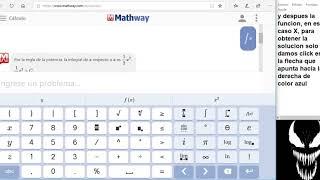 Mathway aplicacion de calculo en linea