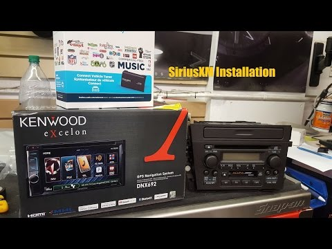 SiriusXM Tuner Module Installation (Kenwood Head Unit) | AnthonyJ350