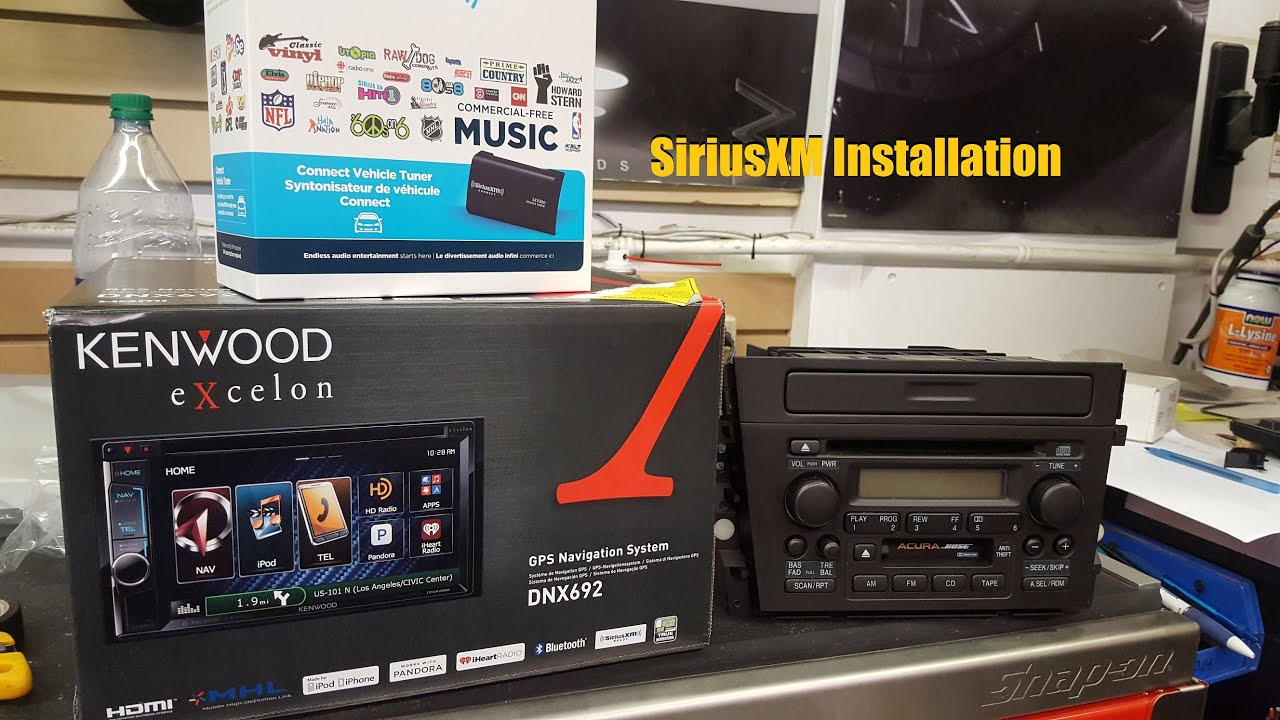 hight resolution of siriusxm tuner module installation kenwood head unit anthonyj350