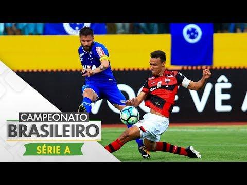 Melhores Momentos - Atlético-GO 1 x 2 Cruzeiro - Série A (24/09/2017)