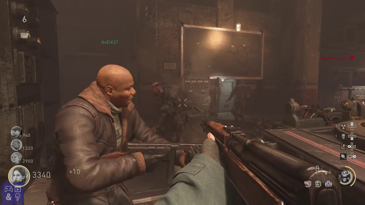 Call of Duty WW2 Nazi Zombies Gameplay