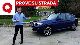Nuova BMW X3: prova su strada del 3 litri diesel | Quattroruote