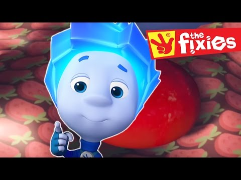 The Fixies ★ Candy - The Chick - The Spare Part - The Team And Hockey SONG  ★ Cartoons For Kids