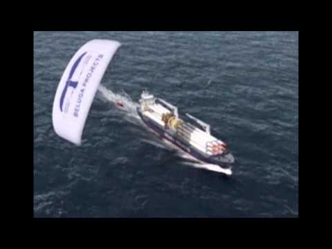 Kite Ship : International Cargo Ship