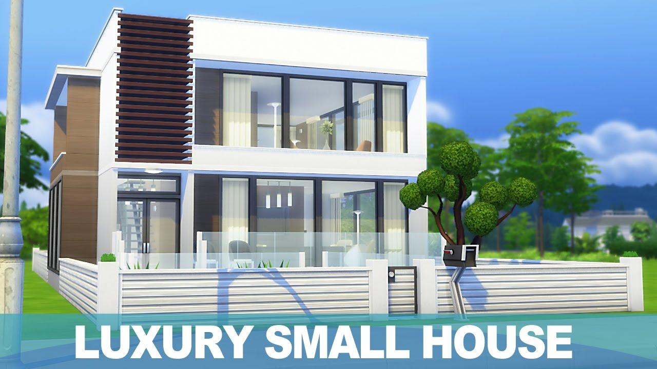 심즈 4 건축 럭셔리 소형주택 The Sims 4 Speed Build Luxury Small