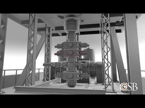 Interim Animation of Pryor Trust Gas Well Blowout and Fire