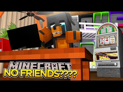 Minecraft - IM SO LONELY!! - DONUT HAS NO FRIENDS!!