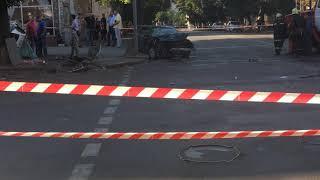 В центре Сум случилась ужасная авария с участием полиции