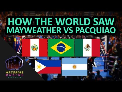 How the World Saw Mayweather x Pacquiao (English Subs)