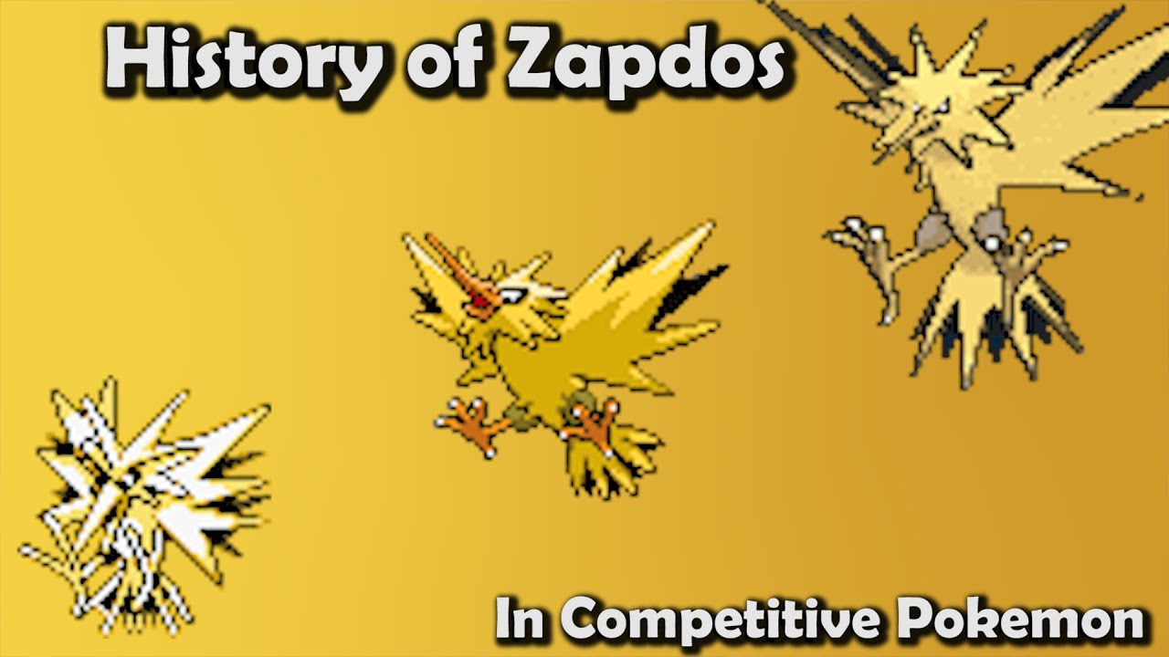 how good was zapdos actually history of zapdos in competitive