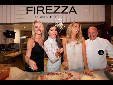 Firezza Celebrity Event with Aldo Zilli