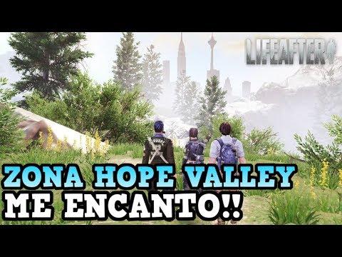 LA NUEVA ZONA ESTA BESTIAL! | LIFEAFTER | NOS VAMOS A HOPE VALLEY [RidoMeyer]