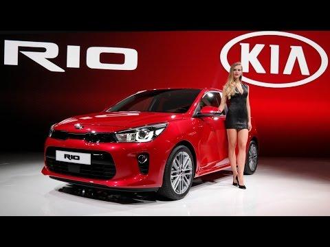 Kia Rio 2017 Европа поделится дизайном с новым седаном для России