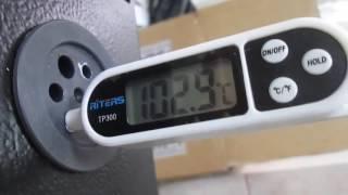 термометр кухонный RITERS TP300. Тестирование