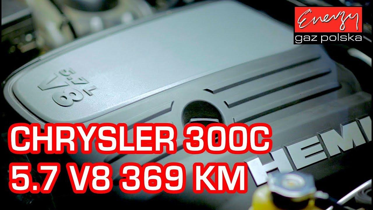 Montaż LPG Chrysler 300C 5.7 V8 HEMI 369KM z LPG BRC Sequent P&D