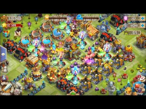 120k Might Account Overview | Castle Clash