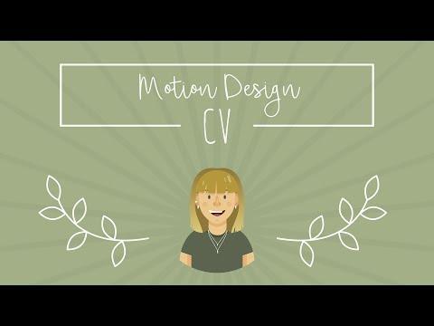 Louise Delhaye // MOTION DESIGN CV
