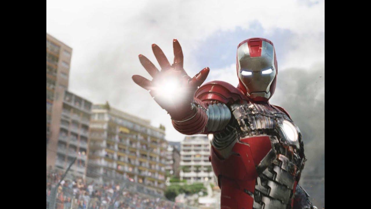 """Iron Man 2 (2010) """"Mark V Suit-Up"""" Scene (Recut) - YouTube  Iron Man 2 (201..."""