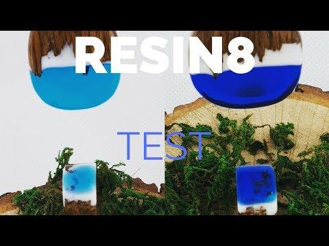 Testing Resin 8 epoxy to make jewellery