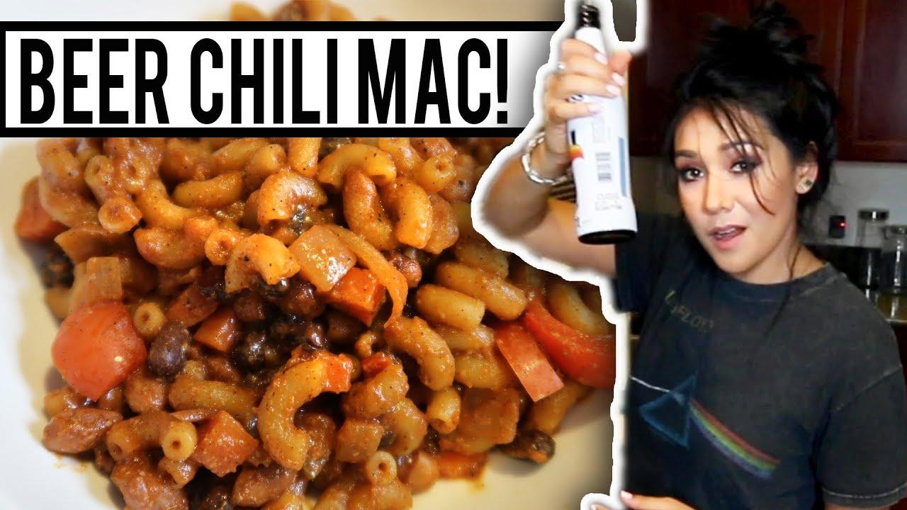 Beer Chili Mac Thug Kitchen Recipe Tasty Tuesday Youtube
