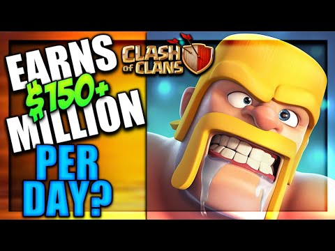 CLASH OF CLANS EARNS $150 PER MONTH? EARNINGS REVEALED CLASH OF CLANS•FUTURE T18
