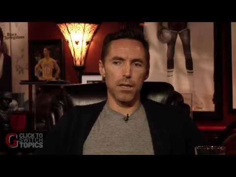 Steve Nash on His Future and Playing With Kobe and Dwight | B.S Report