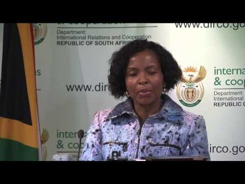 Media Briefing on BRICS Summit & AU Outcomes.